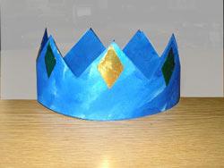 Fabriquer couronne bricolage ecole maternelle - Couronne de roi a fabriquer ...