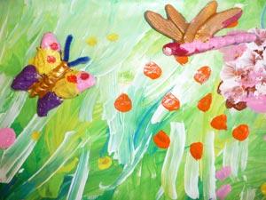 fleur et papillon école maternelle