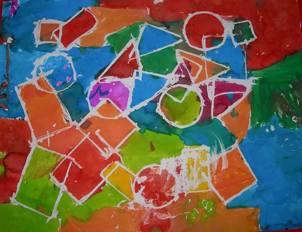 formes geo drawing gum