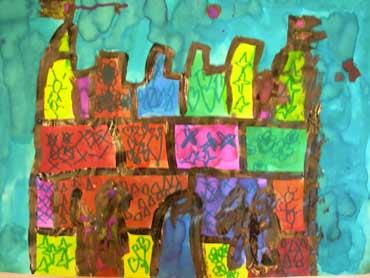 Graphismes et châteaux forts à l'cole maternelle: www.webinstit.net/artsplast/graphisme et arts/chateau_graphisme.htm
