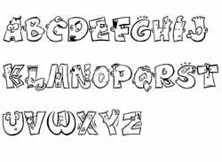 Object not found - Alphabet a decouper gratuit ...