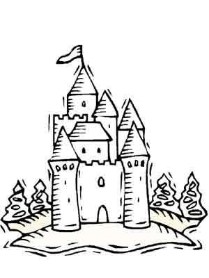 Dessiner un chateau - Dessiner un chateau de princesse ...