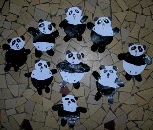 Fabriquer Un Panda Articul 233 224 L 233 Cole Maternelle