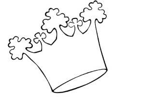 Coloriages rois couronnes galettes - Coloriage de galette des rois ...